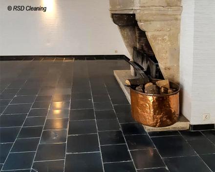 Professionele reiniging van natuursteenvloeren door RSD Cleaning